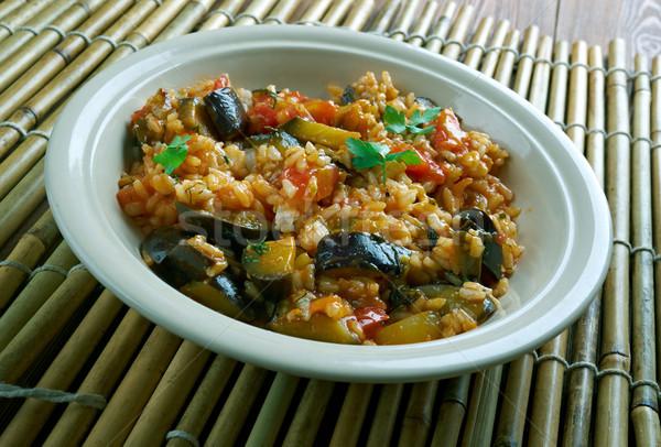 Turkish vegetable  appetizer  Stock photo © fanfo
