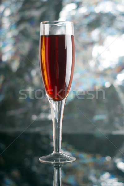 glass of red wine  Stock photo © fanfo