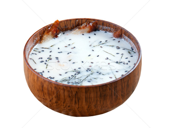 bowl of Chinese Stock photo © fanfo