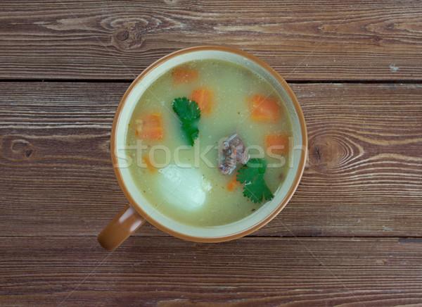 Holandés sopa tradicional alimentos comer Foto stock © fanfo