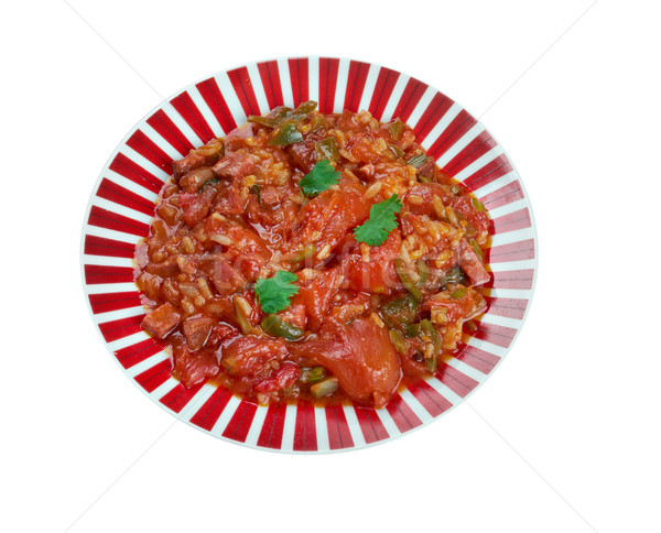 Weeknight Jambalaya Stock photo © fanfo
