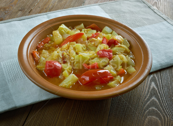 Stock photo: Mixed vegetable kurma