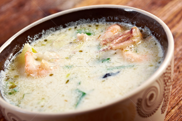 Seafood Chowder Stock photo © fanfo