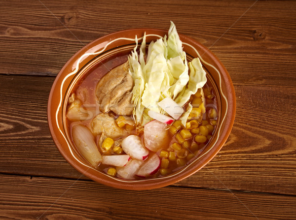 pozole Stock photo © fanfo