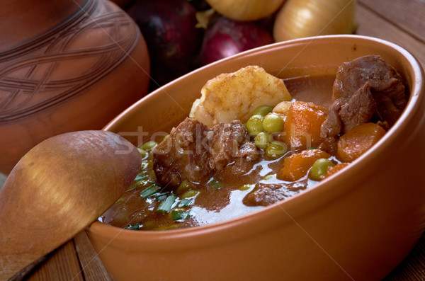 beef fricassee Stock photo © fanfo