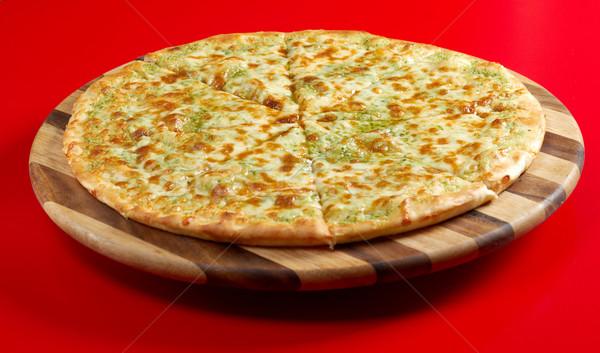 Pizza focaccia Stock photo © fanfo