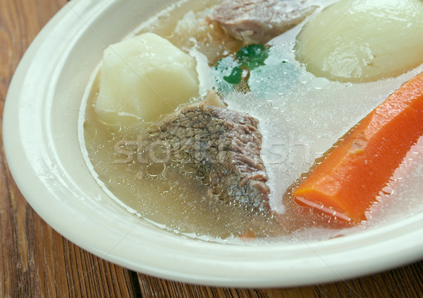 Aberaeron Broth Stock photo © fanfo