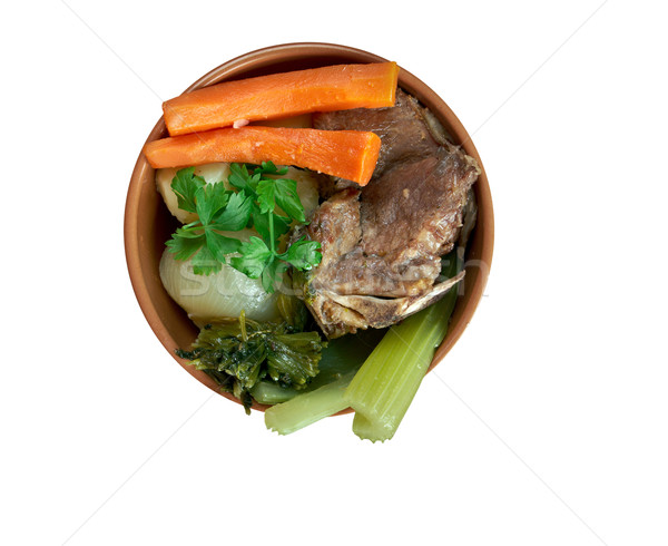 Pot-au-feu Stock photo © fanfo