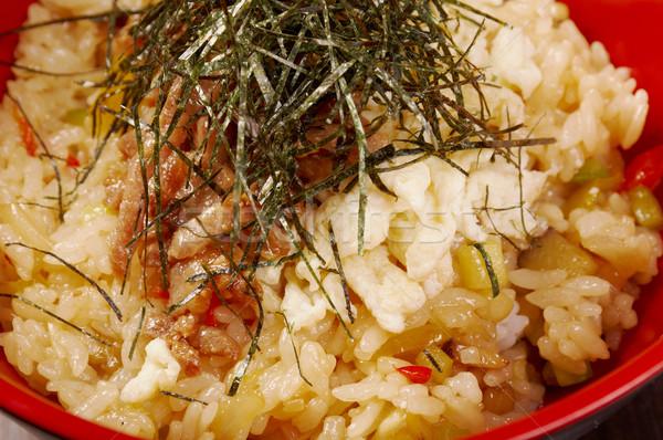 fried rice tyahan  Stock photo © fanfo