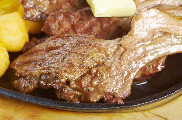 Japanese spare ribs  Stock photo © fanfo