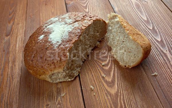 Rústico centeio pão tradicional Foto stock © fanfo