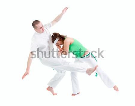 Contact Sport .Capoeira. Stock photo © fanfo