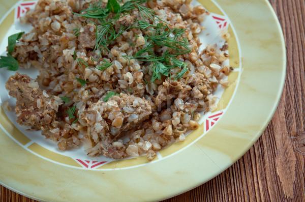 Buckwheat porridge   Stock photo © fanfo