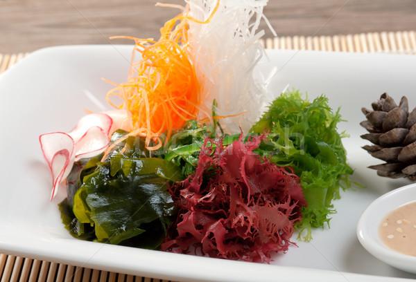 mix salad seaweed Stock photo © fanfo