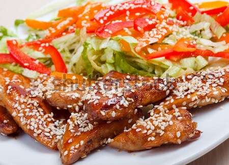 Roasted duck, Chinese style  Stock photo © fanfo