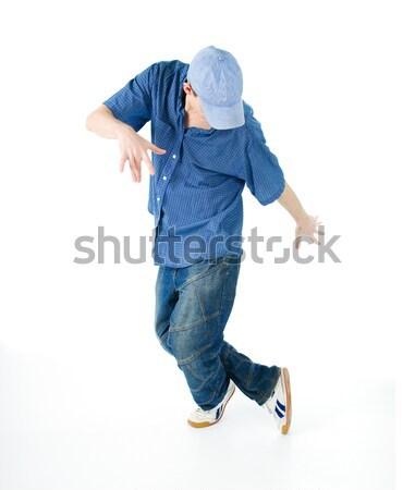 Hip hop style danseur cool sport déplacement Photo stock © fanfo