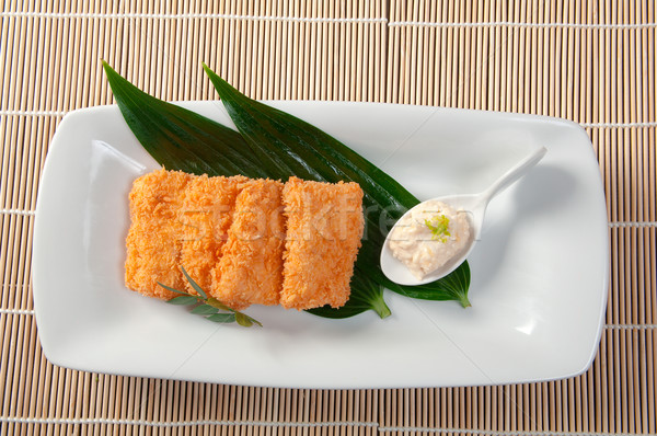 Japanese Tonkatsu, pork cutlet  Stock photo © fanfo