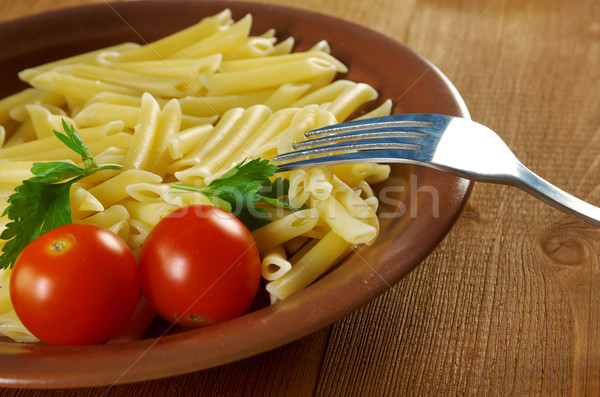 delicious macaroni pasta Stock photo © fanfo