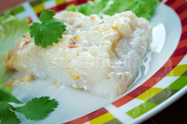 Lutefisk Stock photo © fanfo