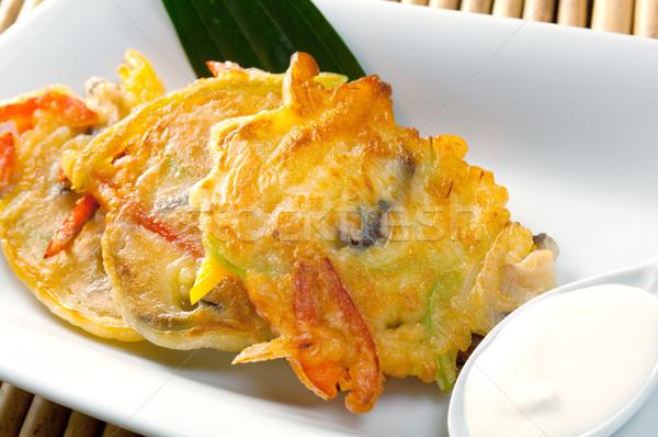 Japanese pancakes Stock photo © fanfo
