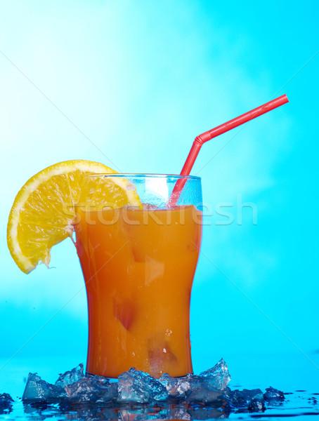 Drinken ijs tropische bril studio alcohol Stockfoto © fanfo