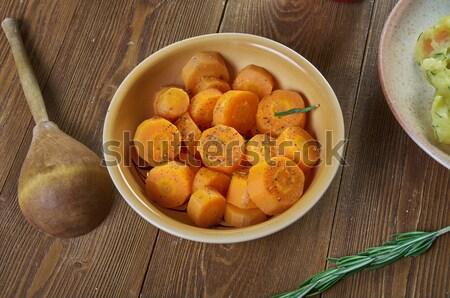ダブリン アイルランド 皿 豚肉 ソーセージ ストックフォト © fanfo