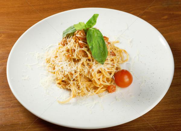 Spaghetti bolognese  Stock photo © fanfo