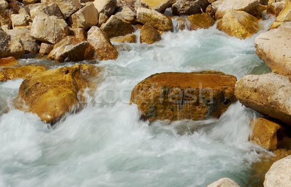 Hegy folyó Törökország víz terv utazás Stock fotó © fanfo