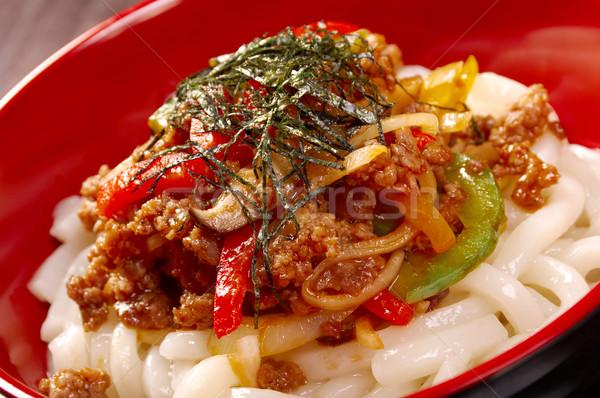 Rundvlees pees stoven groene witte Stockfoto © fanfo