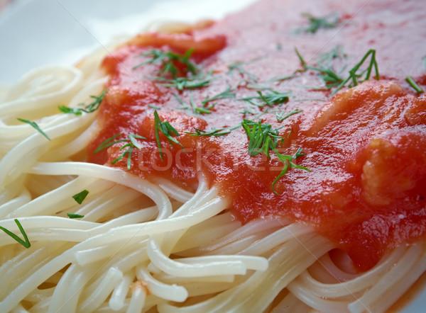 vermicelli Stock photo © fanfo