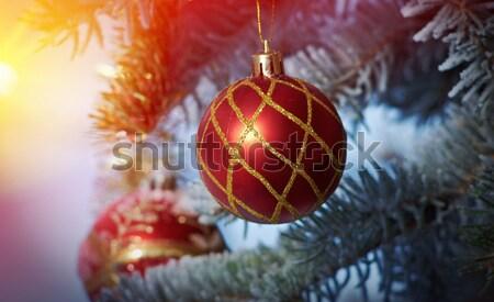 Christmas balls.  Stock photo © fanfo
