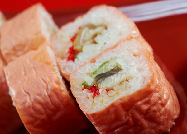 Maki Sushi - Roll made  Stock photo © fanfo