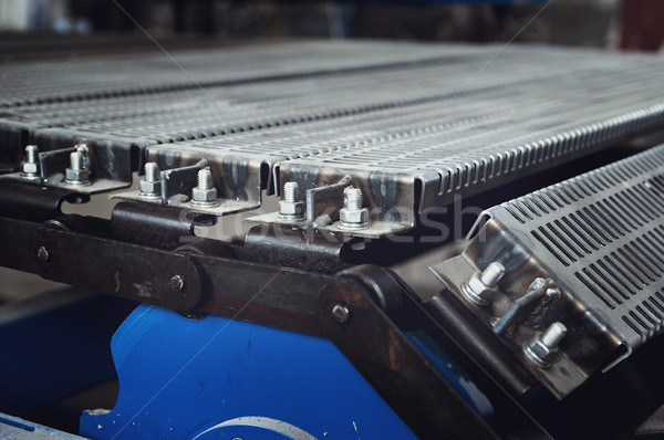 convey-er belt. industry track. conveyor belt. Stock photo © fanfo