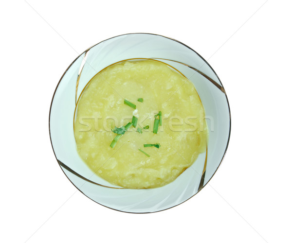 Leek soup Stock photo © fanfo