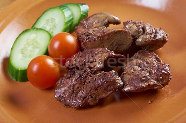куриные пластина растительное еды никто органический Сток-фото © fanfo
