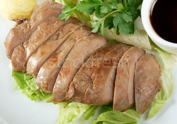 Roasted duck, Chinese style  . Stock photo © fanfo