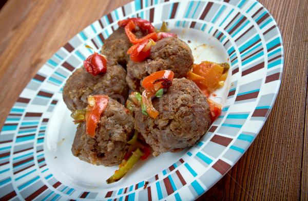 Fiesta Meatballs Stock photo © fanfo
