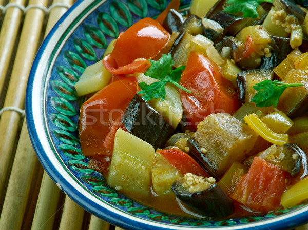 Indian fried vegetables Stock photo © fanfo