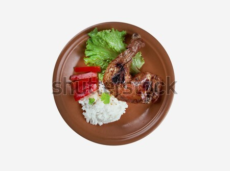 Bak Kut Teh Stock photo © fanfo