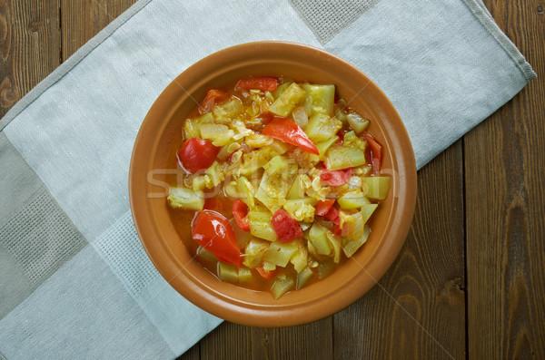 Mixed vegetable kurma Stock photo © fanfo