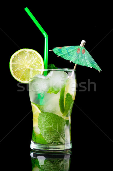 Mojito cocktail.isolated  Stock photo © fanfo