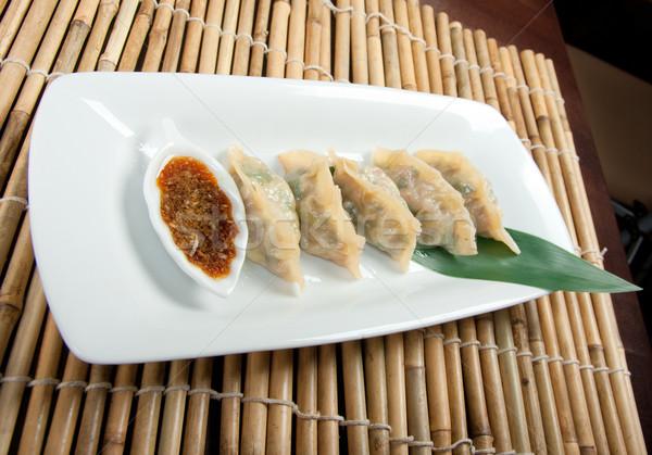 コール アジア 伝統 中国語 スタイル レストラン ストックフォト © fanfo