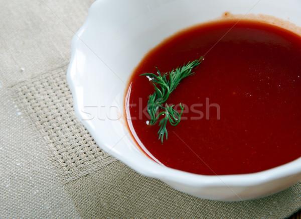 Sauce base classique français cuisson chaud Photo stock © fanfo