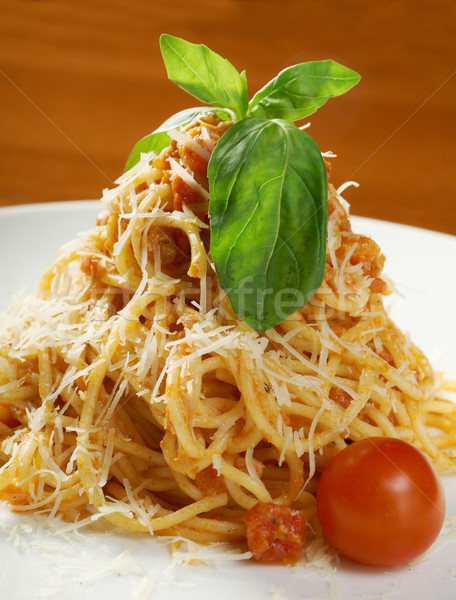 Spaghetti bolognese  Stock photo © fanfo