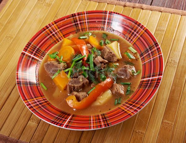 Foto stock: Irlandés · estofado · cariñoso · cordero · carne · patatas