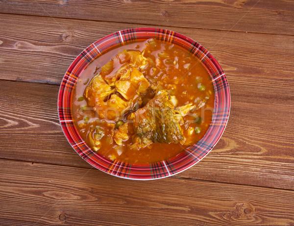 Kerala Fish Curry Stock photo © fanfo