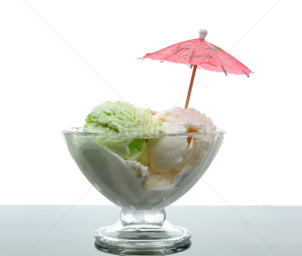 ice cream in a glass vase. Stock photo © fanfo