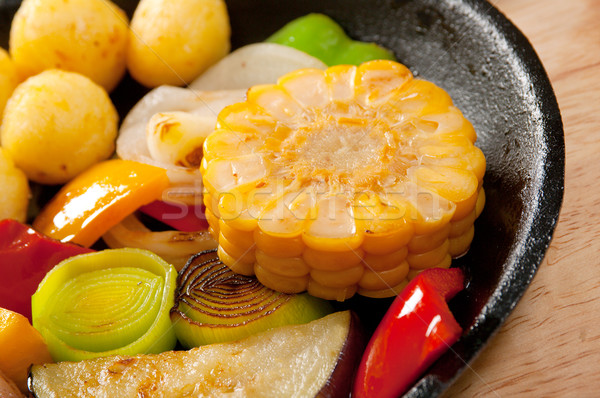 Japans garnering plantaardige diner groenten Stockfoto © fanfo
