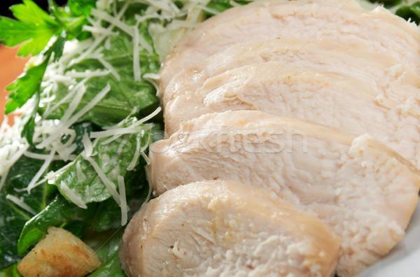 healthy salad  chicken Stock photo © fanfo
