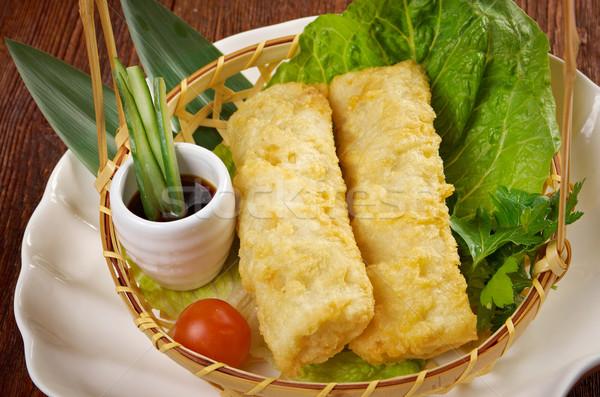 Chińczyk stylu używany wiosną restauracji śniadanie Zdjęcia stock © fanfo